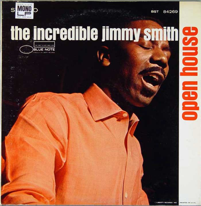 jimmy smith - open house (sleeve art)